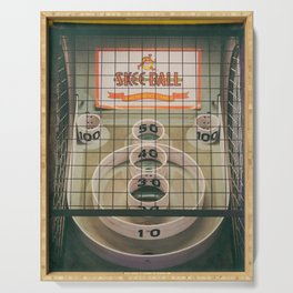 Skee Ball Game Serving Tray