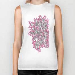 Black Growth with Pink Biker Tank