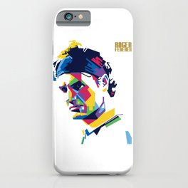 RF Roger Federer Tennis iPhone Case