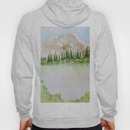 Mountain and lake Hoody