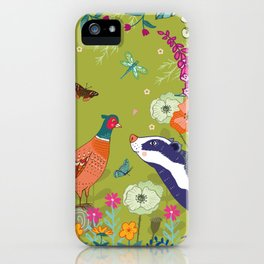 Very Pheasant to Meet You iPhone Case