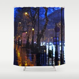 Lights up the Night Shower Curtain