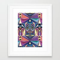 totem Framed Art Prints featuring Totem by Naia Ceschin