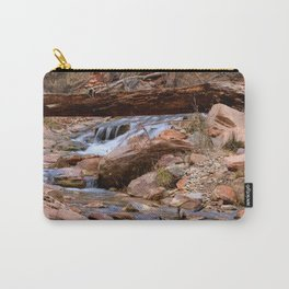 Virgin River Falls 0860 - Zion Court Carry-All Pouch
