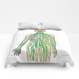 Human neural pathways Comforters