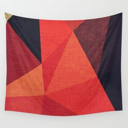 Abstract geometric patter.Triangle background Wall Tapestry