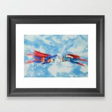 Super Joust Framed Art Print