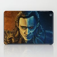 loki iPad Cases featuring Loki by Sara Cooley