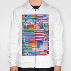 Flags For The Future Mash Up Hoody