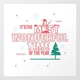 Holiday Season Art Print