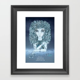 Have You Ever Seen the Rain? Framed Art Print
