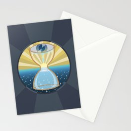 """""""Weeping may endure for a night, but joy comes in the morning."""" Psalm 30:5 Stationery Cards"""