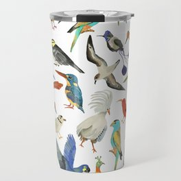 Endangered Birds Around the World Travel Mug