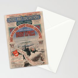 Vintage poster - Orient Express Stationery Cards