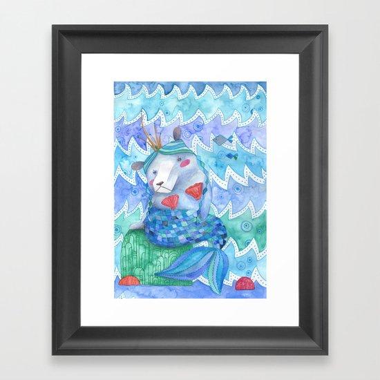 Bearmaid Framed Art Print