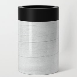 Gray Weathered Wood Can Cooler