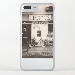 Libros Clear iPhone Case