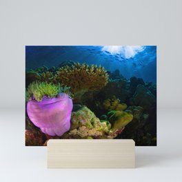 Tropical Sea Coral Mini Art Print