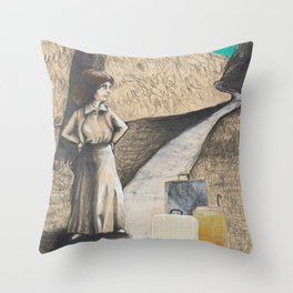 New travel Throw Pillow