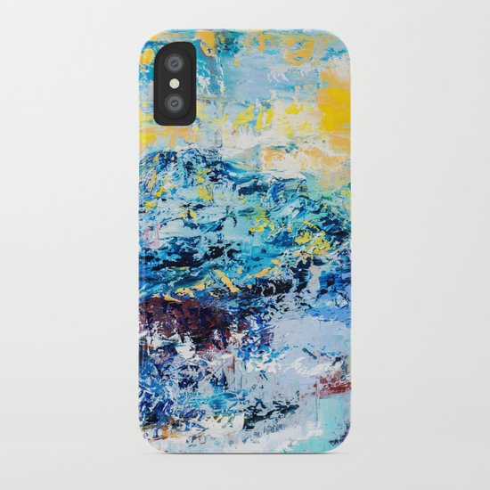 Visionary mountain iPhone Case