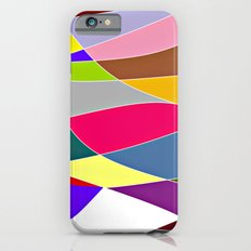 Abstract Lines & Color iPhone 6s Slim Case