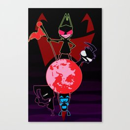Invader Zim Canvas Print