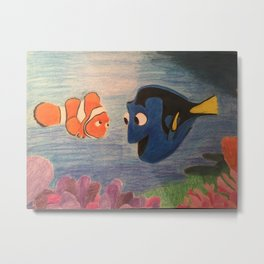 Finding Nemo Metal Print