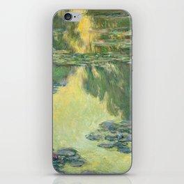 Waterlilies, 1907 - Monet iPhone Skin