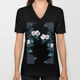 Wild Bee Blackberry Unisex V-Neck