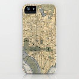 Washington D.C. 1893 iPhone Case