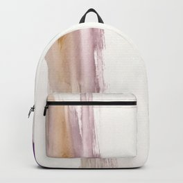 Sugar and Spice [2]: a minimal, pretty abstract piece in pinks, purple, mauve, and tan Backpack