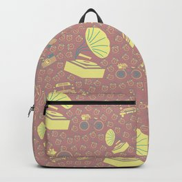 Retro pattern Backpack