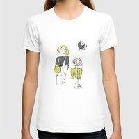 shopping T-shirts featuring shopping by Josephine Walz