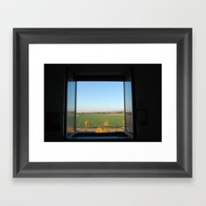 World out there Framed Art Print