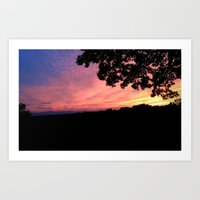 Some Sort of Sunset Art Print
