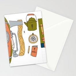 Camping para Stationery Cards