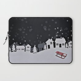 RED SLED Laptop Sleeve