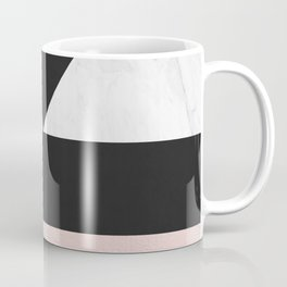Modern marble geometry V Coffee Mug