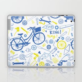 All about the bikes Laptop & iPad Skin