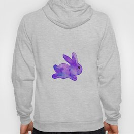 Little Bunny No. 1f by kathy Morton Stanion Hoody