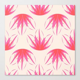 waterlily in pink Canvas Print