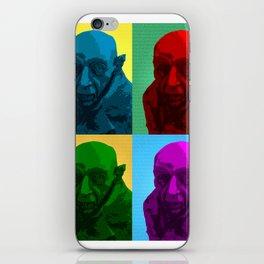 nosferatu pop art iPhone Skin