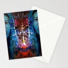 Goddess Divine Trees Stationery Cards