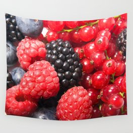Mixed berries Wall Tapestry