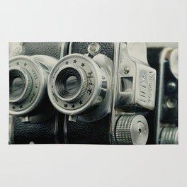 Hit Vintage camera Rug