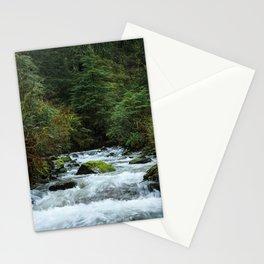 Neahkahnie Creek Cascades Stationery Cards