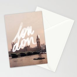 Brace yourselves, lots of London artwork are coming... Stationery Cards