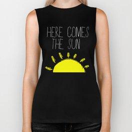 Here Comes The Sun Biker Tank