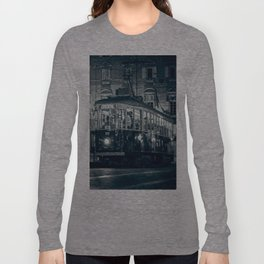 Vintage night in Turin Long Sleeve T-shirt
