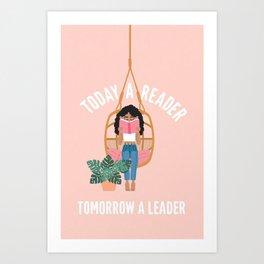 Tomorrow A Leader Canvas Print Art Print